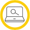 Resources Icon in a yellow circle