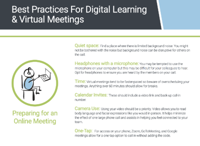 Best Practices for Digital Learning & Virtual Meetings