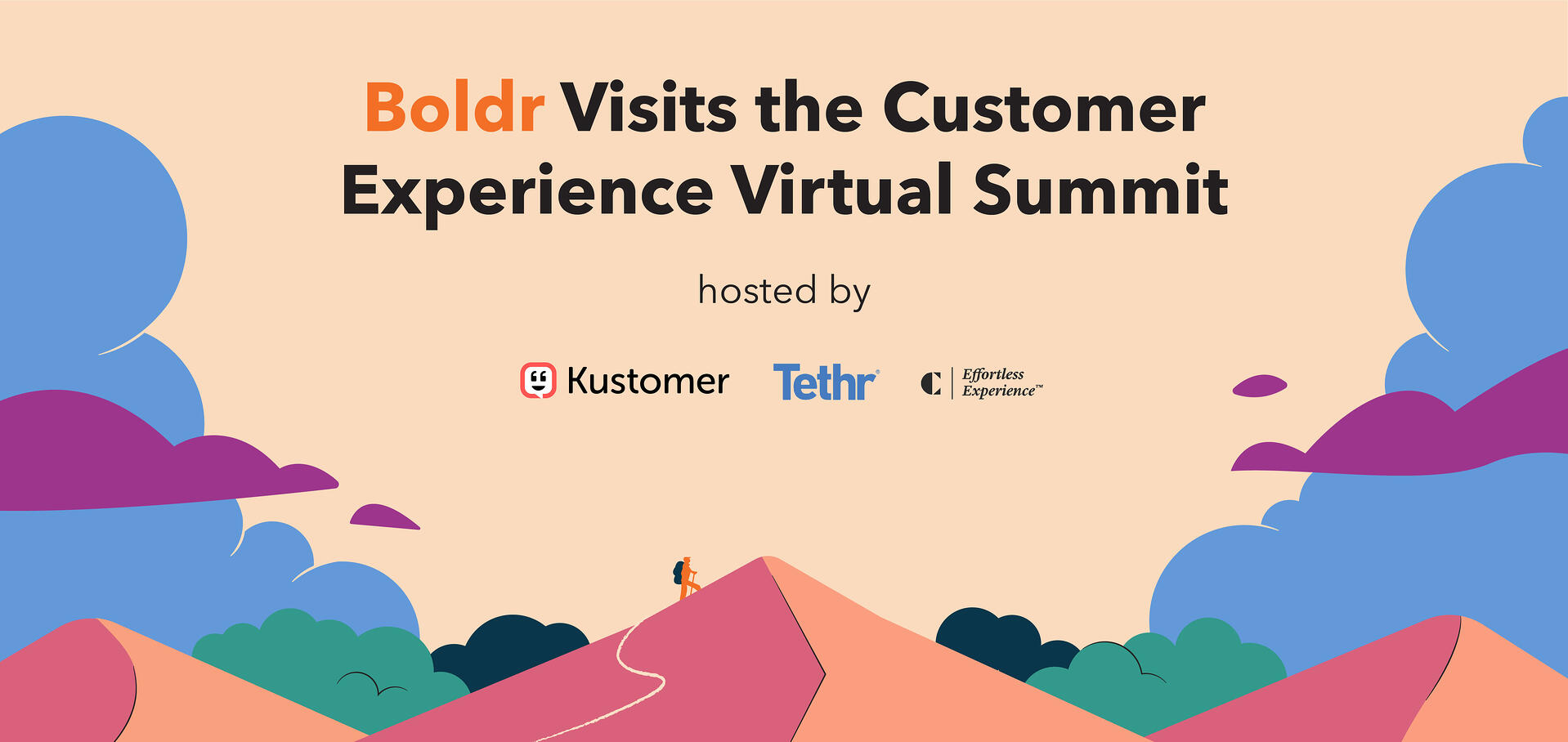 Boldr Visits the Customer Experience Virtual Summit