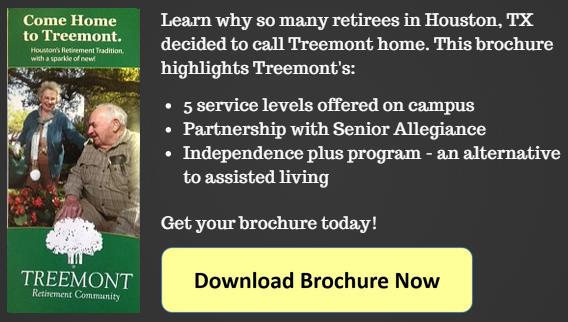 Treemont Assisted Living Houston TX brochure