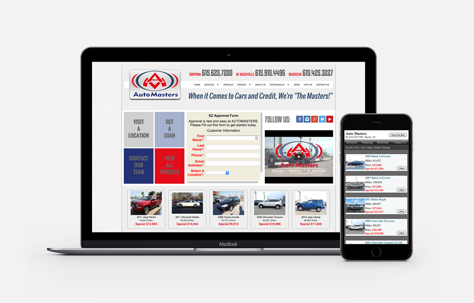 auto masters nashville marketing firm horton group