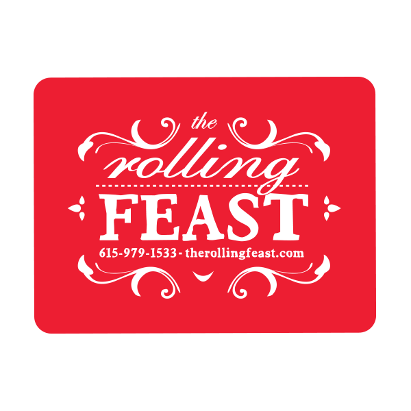 The Rolling Feast - Logo Design