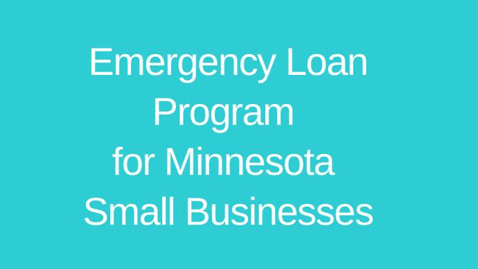 Emergency Loan Program for Minnesota Small Businesses