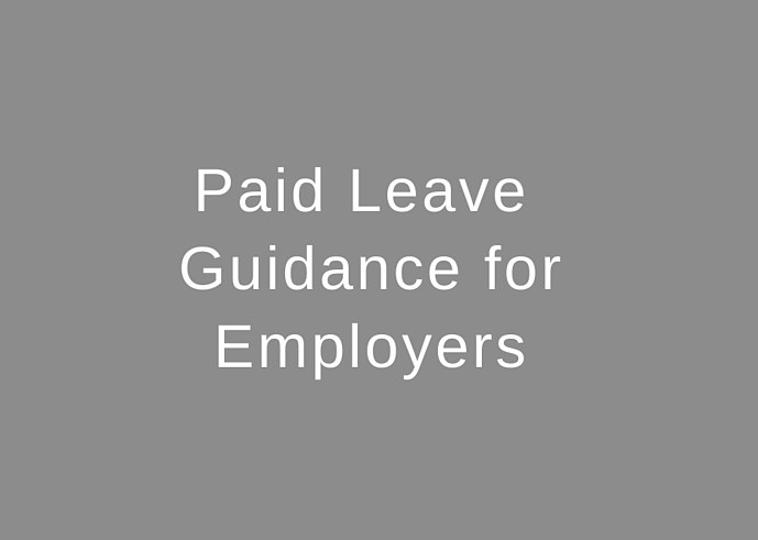 Paid Leave Guidance for Employers for Families First Coronavirus Response Act