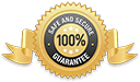 Safe and Secure 100% Guarantee