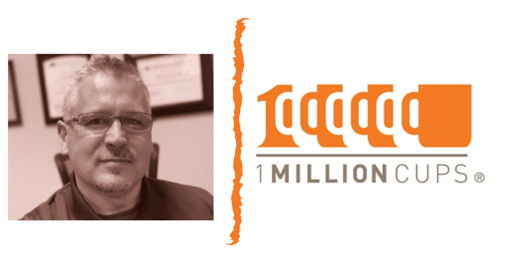 Tim Webb equivaQ One Million Cups