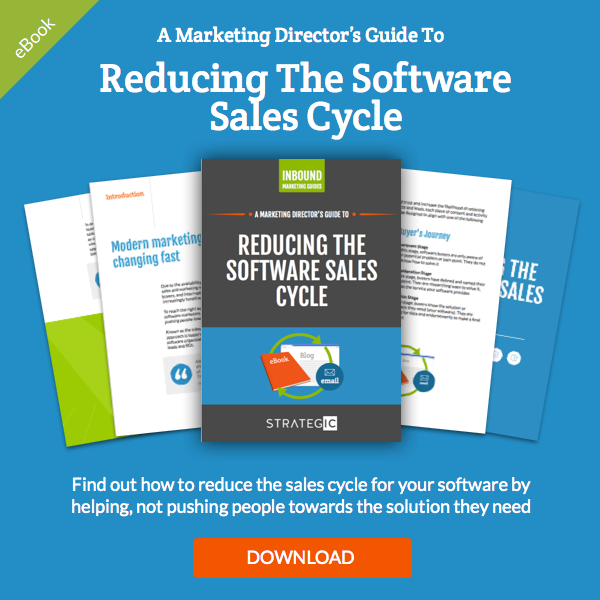 reduce software sales cycle