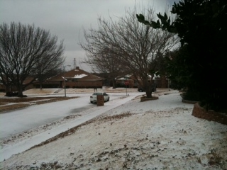 Dallas Courier Company – Snowy Dallas Weather!
