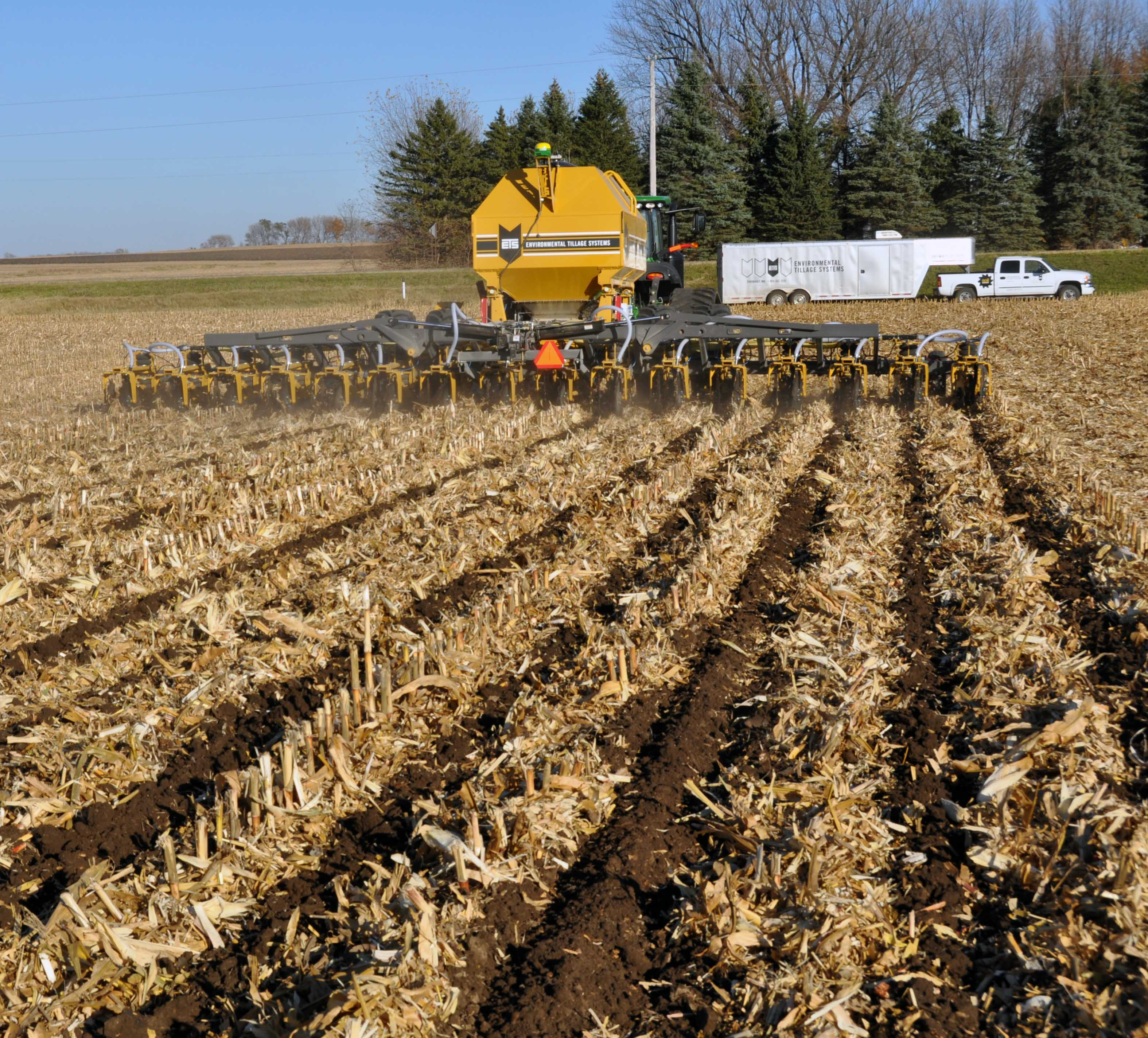 Ets zone tillage a better way to strip till for Soil warrior