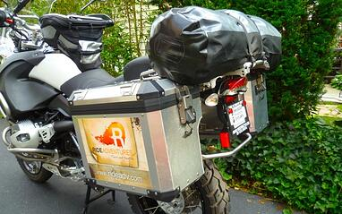How To Pack Motorcycle for Self-Guided Trip