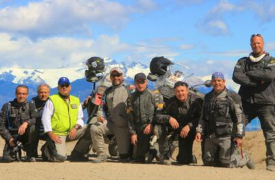 Group Motorcycle Trip Mountains