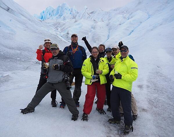 Hiking Perito Moreno Glacier