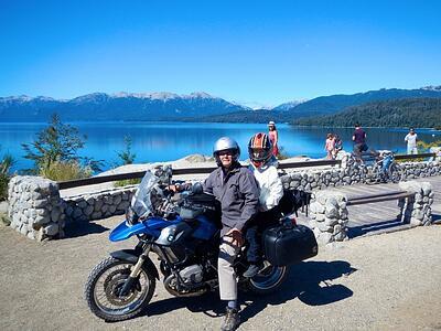 riding motorcycles in patagonia