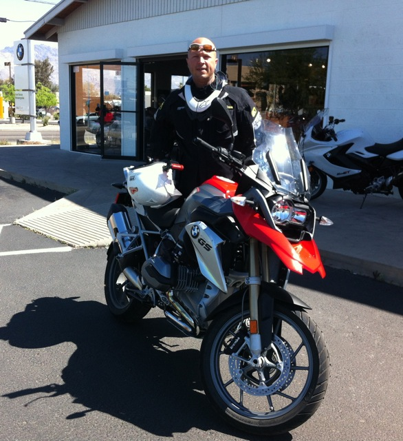 2013 R1200GS Test Ride