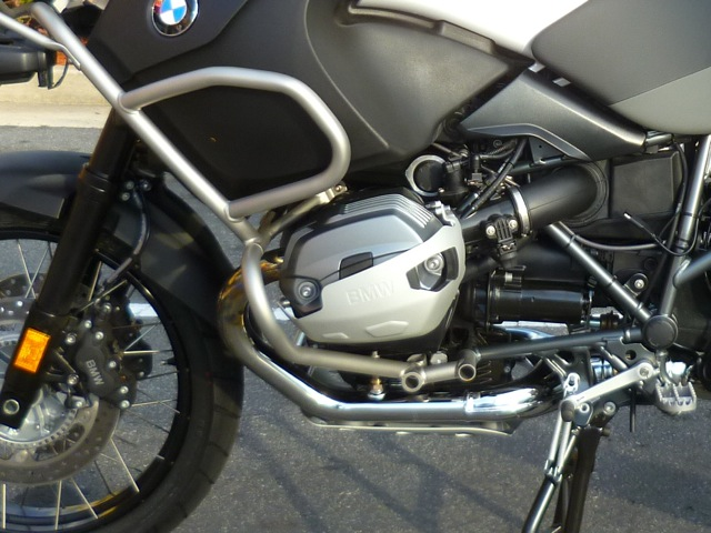BMW original crash bars