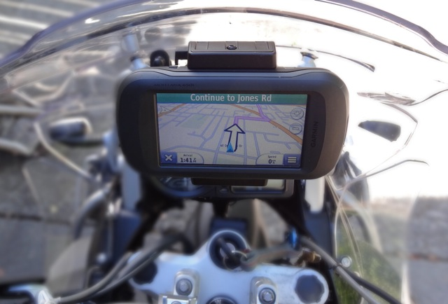 Garmin Montana for Motorcycle