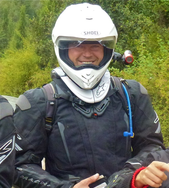 Helmet Camera in Patagonia