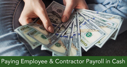 Paying-Employee-payroll-in-cash