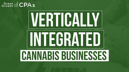 cannabis vertical integration