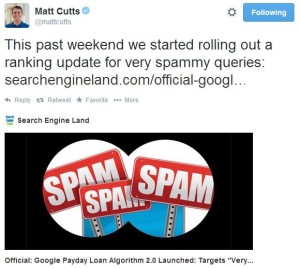 Matt Cutts Panda 4.0