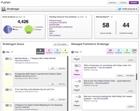 Social Media Analytics and Measurement -- SocialFlow