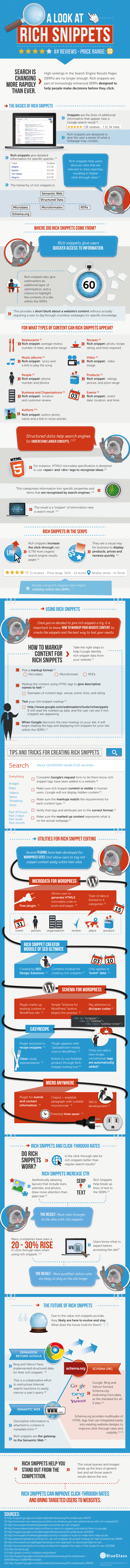 Guide to Rich Snippets by BlueGlass Interactive on SEOmoz