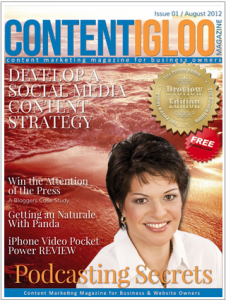 Content Igloo Magazine
