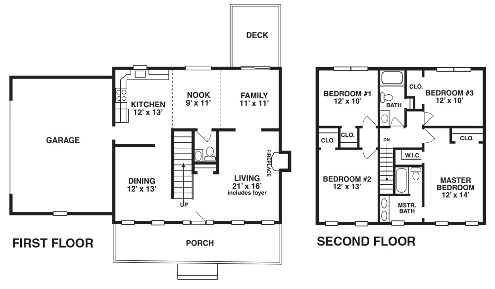 Samuel New Home Floor Plan New Homes In Pa