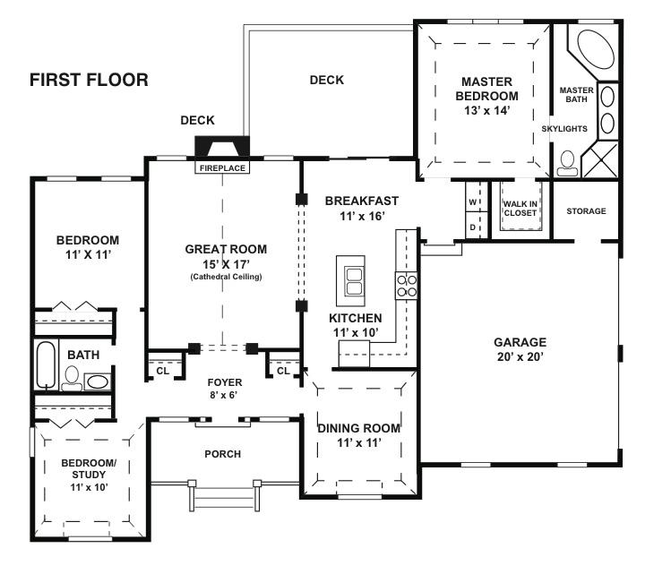 Baldwin new home floor plan new homes in pa for Baldwin floor plan