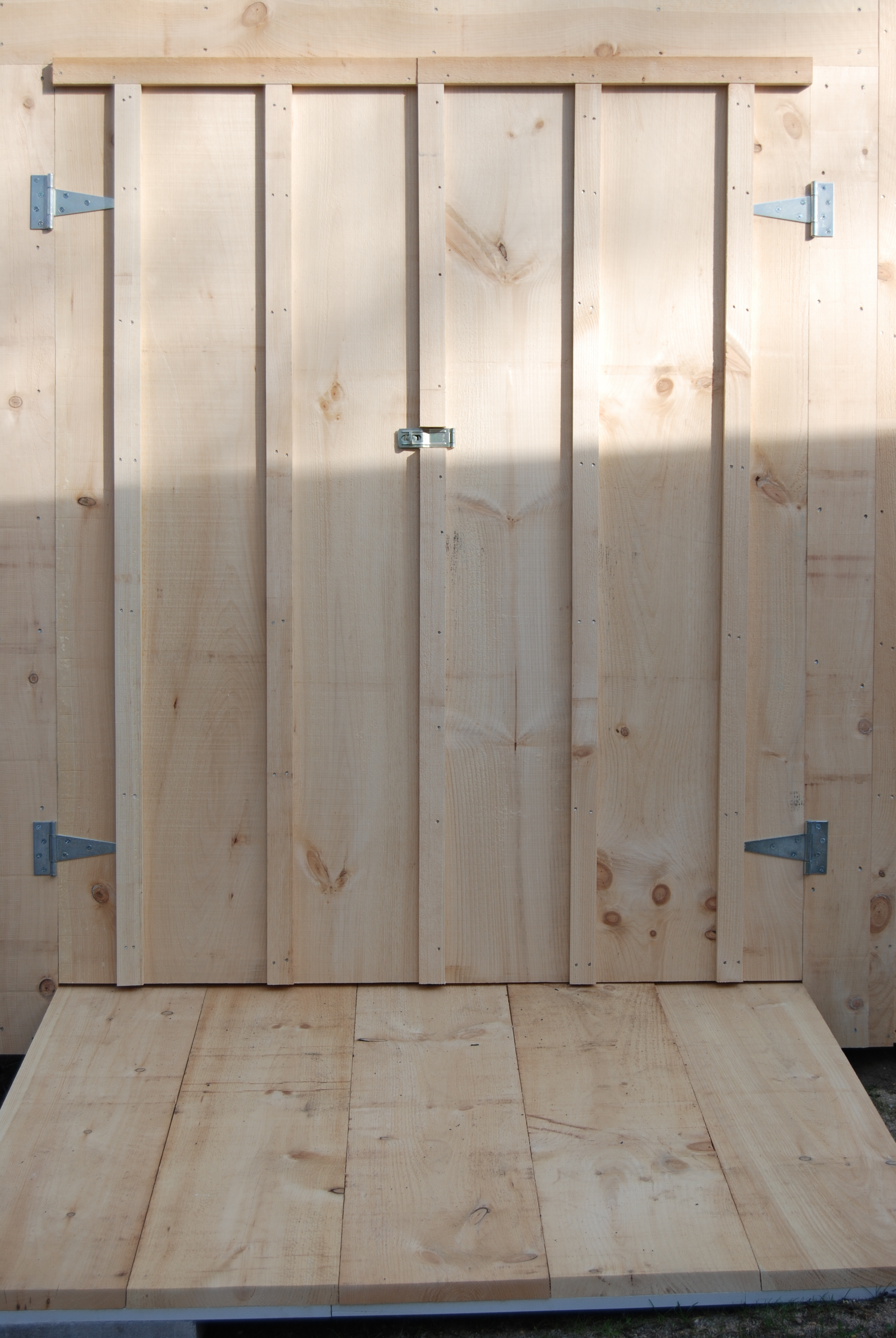 Custom Doors Available Only At Salt Spray Sheds