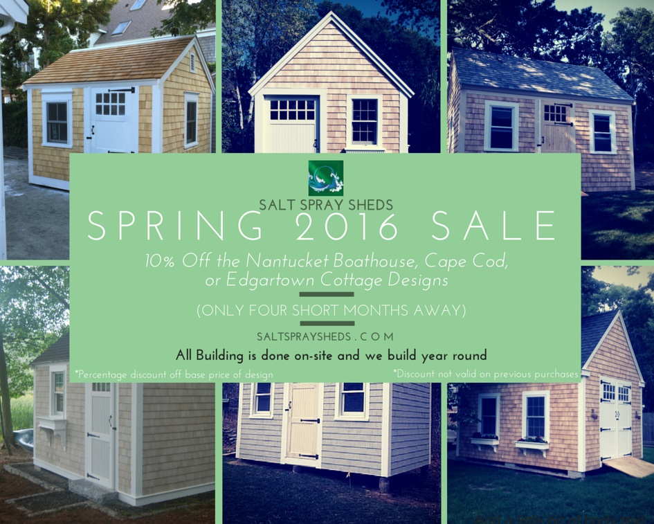 Salt Spray Sheds Spring_Sale