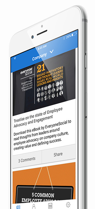 Employee Advocacy Mobile