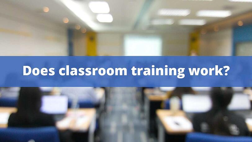classroom-training-does-it-work