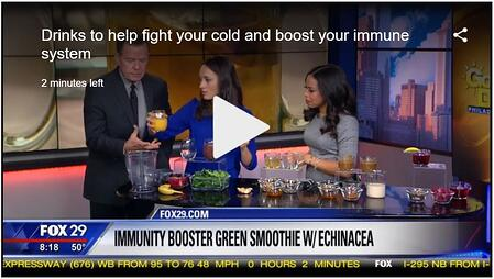 Drinks to help fight your cold and boost your immune system
