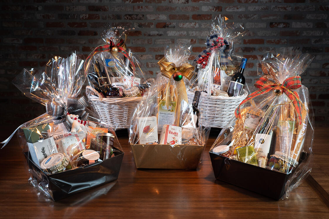 Haute Mess Holiday Baskets