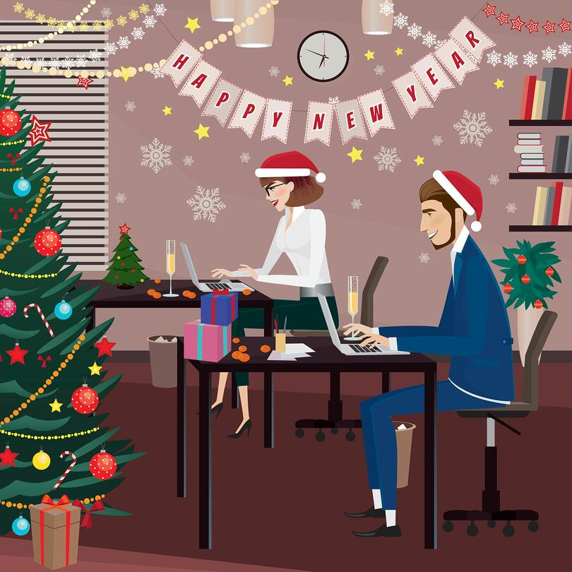 How Your Company Can Avoid the Office Holidays Blues