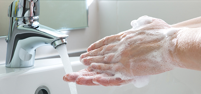 Hand Washing Helps Prevent The Spread Of Infectious Diseases