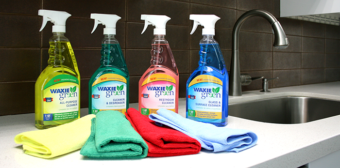 Introducing The Waxie Green Cleaning Kit