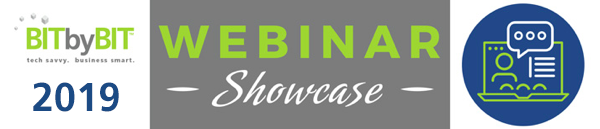 2019 Webinar Showcase Logo