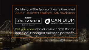 SPM Leader, Canidium, is an Elite Sponsor of Xactly Unleashed