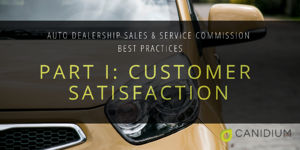 Auto Dealership Sales and Service Commissions Best Practices: Part I