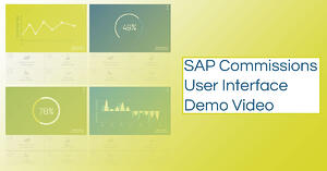 SAP Commissions User Interface