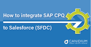 How to integrate SAP CPQ To Salesforce