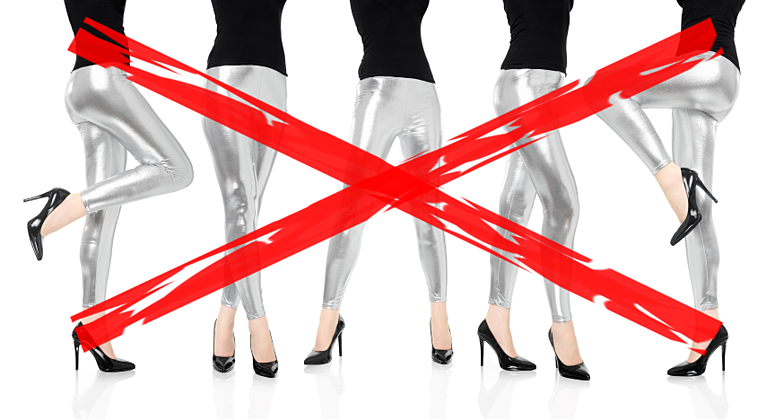Too Sexy For My Leggings... and Other PR Fails