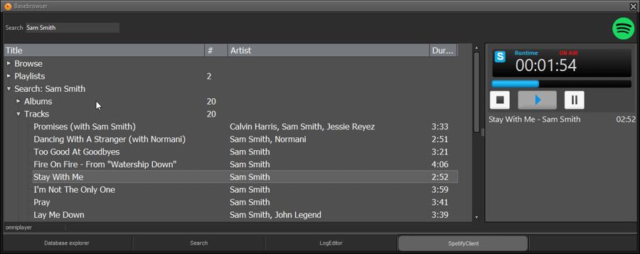 Spotify in your radio studio? No problem