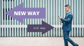 old way - new way piqnic