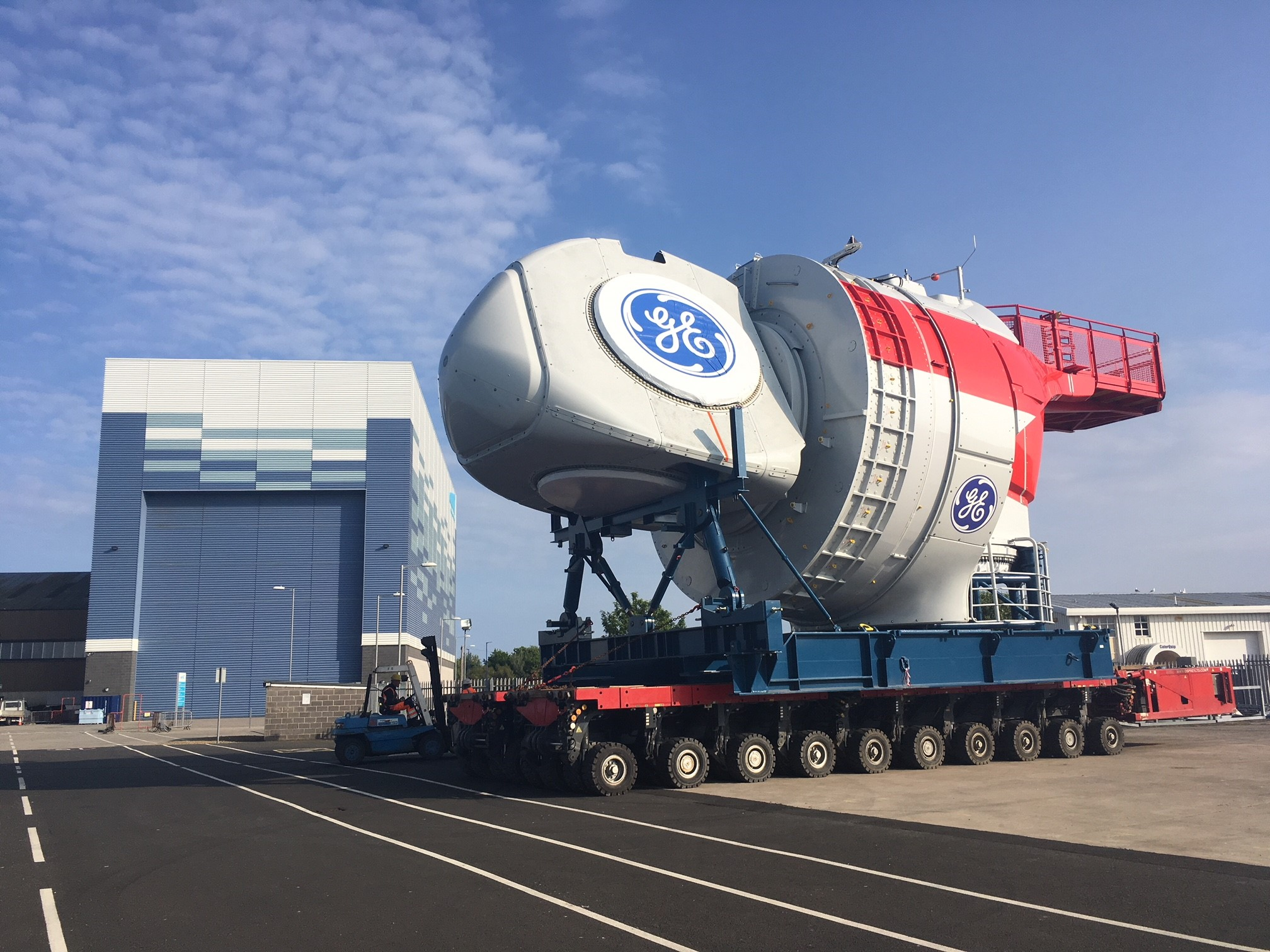 GE nacelle and the 15MW