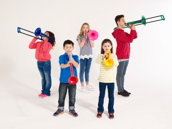Learn to play trombone for Make Music Month!
