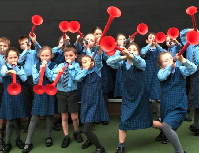 Pennthorpe School get the Buzz!