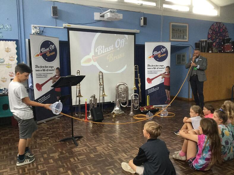 Blast off Brass; the Stutton Primary Superstars